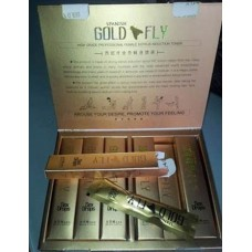 Шпанская мушка GOLD FLY / женский возбудитель / 12 пакетиков