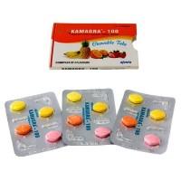 KAMAGRA CHEWABLE 100 | Силденафил 100 мг | 4 таб Камагра Софт