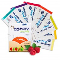 Kamagra oral jelly - Виагра желе - 7 пакетиков